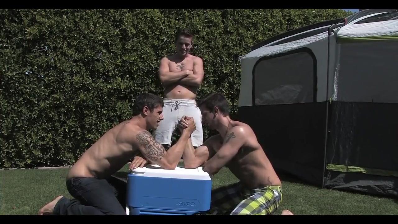 Outdoors gay big dick porn
